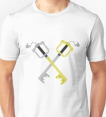 Keyblades Cross Pixel Unisex T-Shirt
