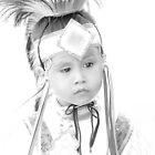 Little Wacipi Dancer in High Key by Dyle Warren
