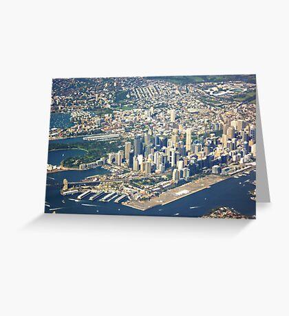 Sydney CBD Greeting Card