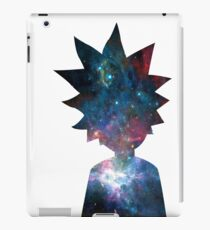 Rick and Morty Galaxy Design iPad Case/Skin