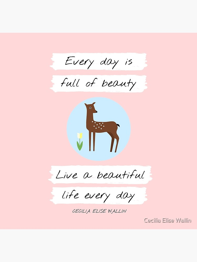 UPLIFTING QUOTE  (deer, animal) from Inventicity™ by CeciliaElise