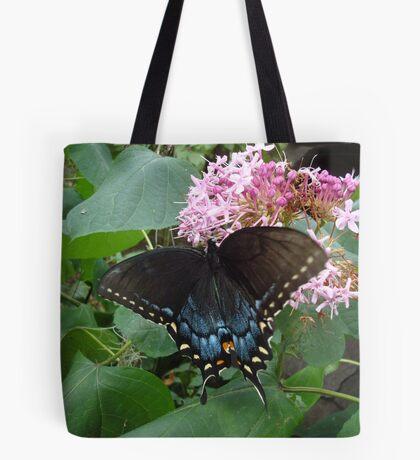 Black Eastern Swallowtail - Summer's End Tote Bag