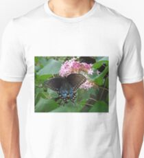 Black Eastern Swallowtail - Summer's End Unisex T-Shirt