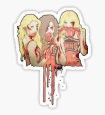 Zombie Unholy Trinity v.2 Sticker