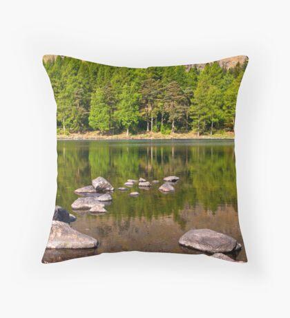 Still Waters - Blea Tarn Throw Pillow