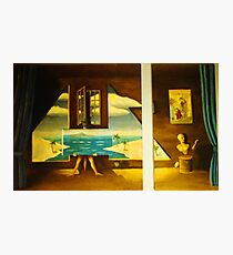 Ode to Magritte Photographic Print