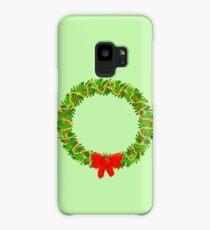 Holiday Wreath Case/Skin for Samsung Galaxy