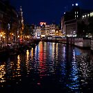Amsterdam's Canals by Anthony Hennessy