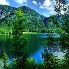 Beautiful Little Lake by Daidalos