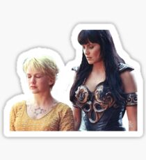 Xena & Gabrielle Sticker