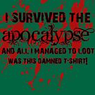 I Survived The Apocalypse... by ikonvisuals