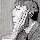 133 - AUBREY BEARDSLEY (INK) 1987 by BLYTHART