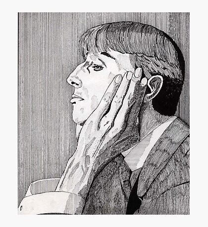 133 - AUBREY BEARDSLEY (INK) 1987 Photographic Print