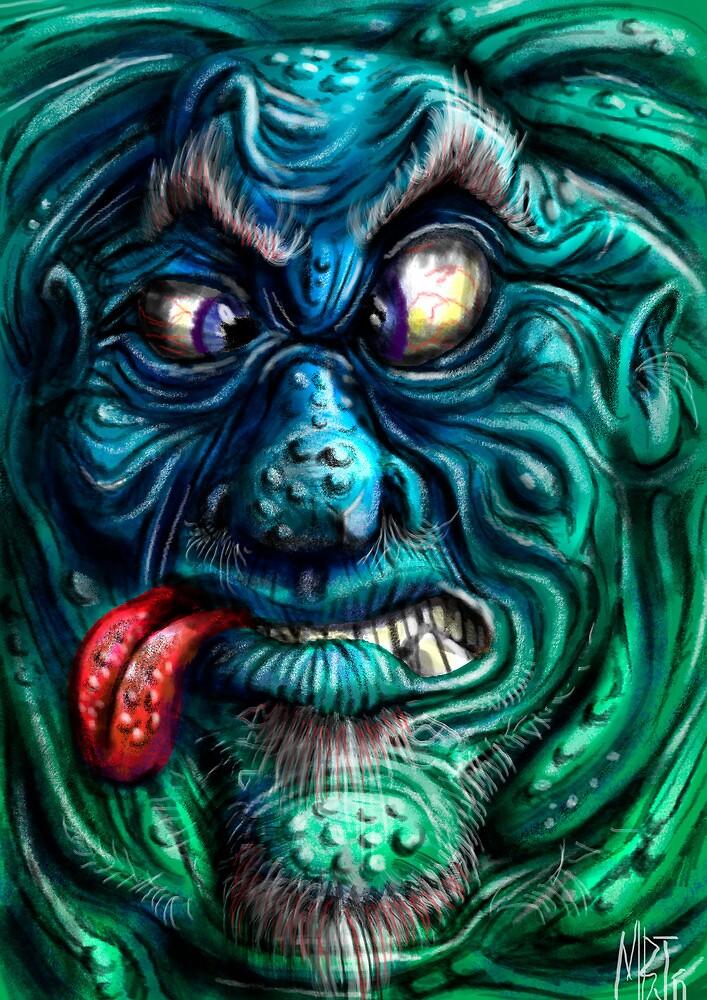 Squashy Devil by Matt Bissett-Johnson