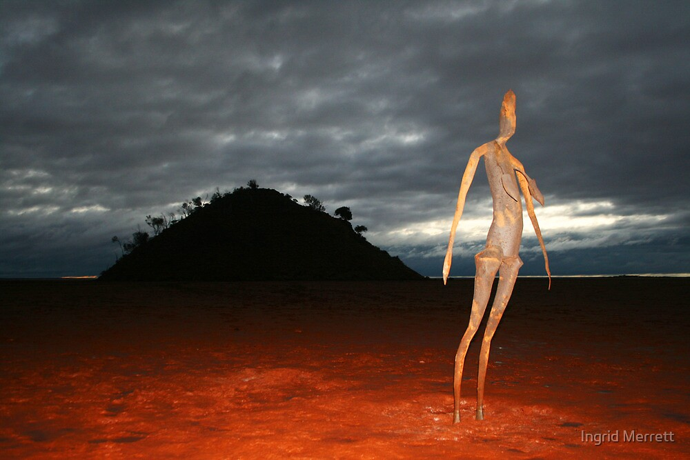 art statue by Ingrid Merrett