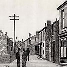 134 - RHOSLLANERCHRUGOG HIGH STREET, NORTH WALES (INK) 1987 by BLYTHART