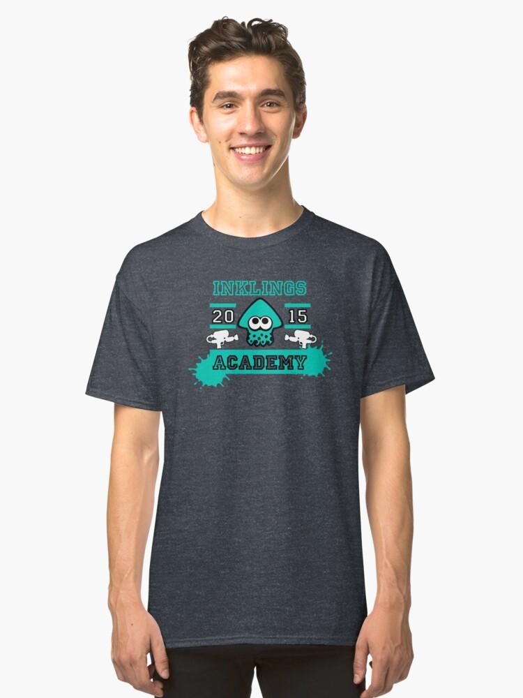 T-shirt classique ''SPLATOON ACADEMY TURQUOISE': autre vue
