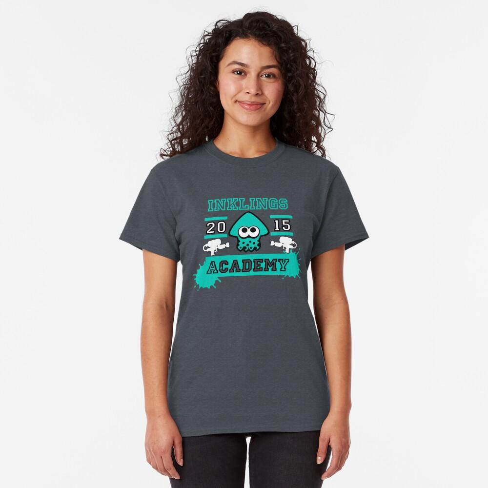 T-shirt classique «SPLATOON ACADEMY TURQUOISE»