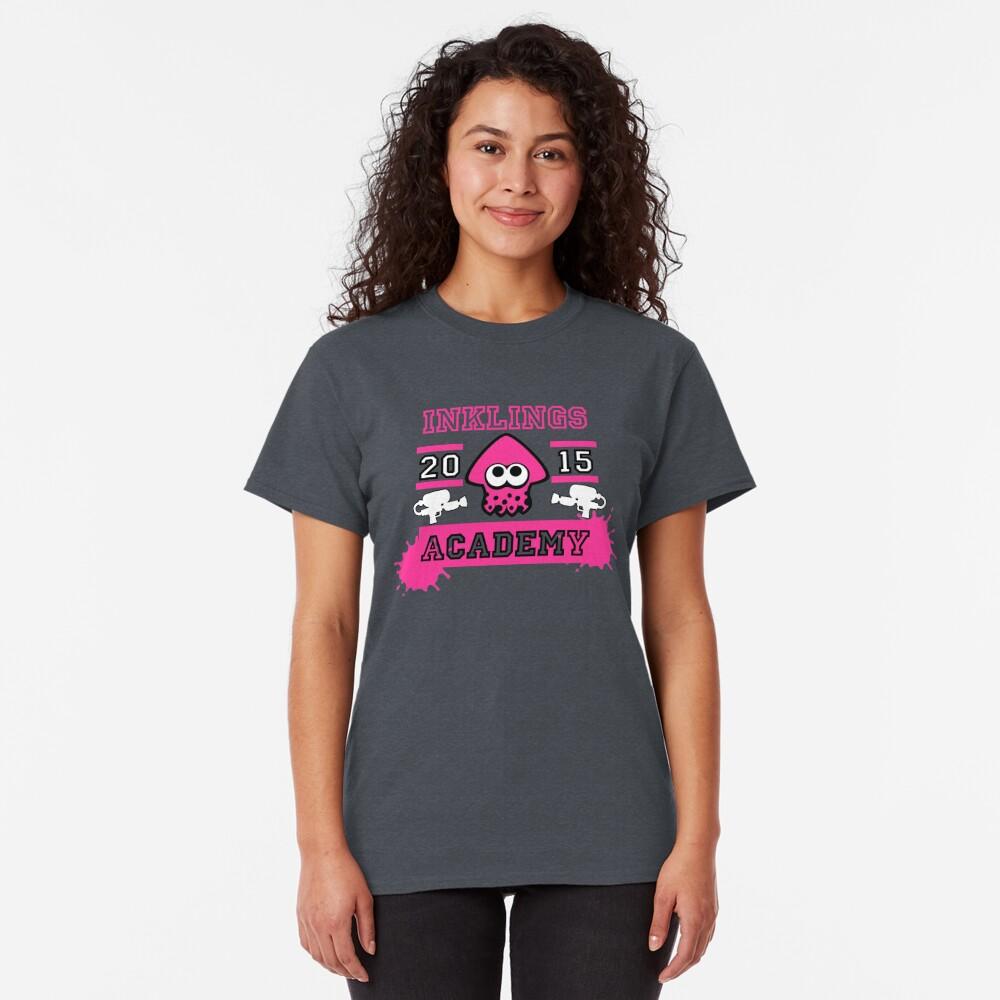 T-shirt classique «SPLATOON ACADEMY PINK»