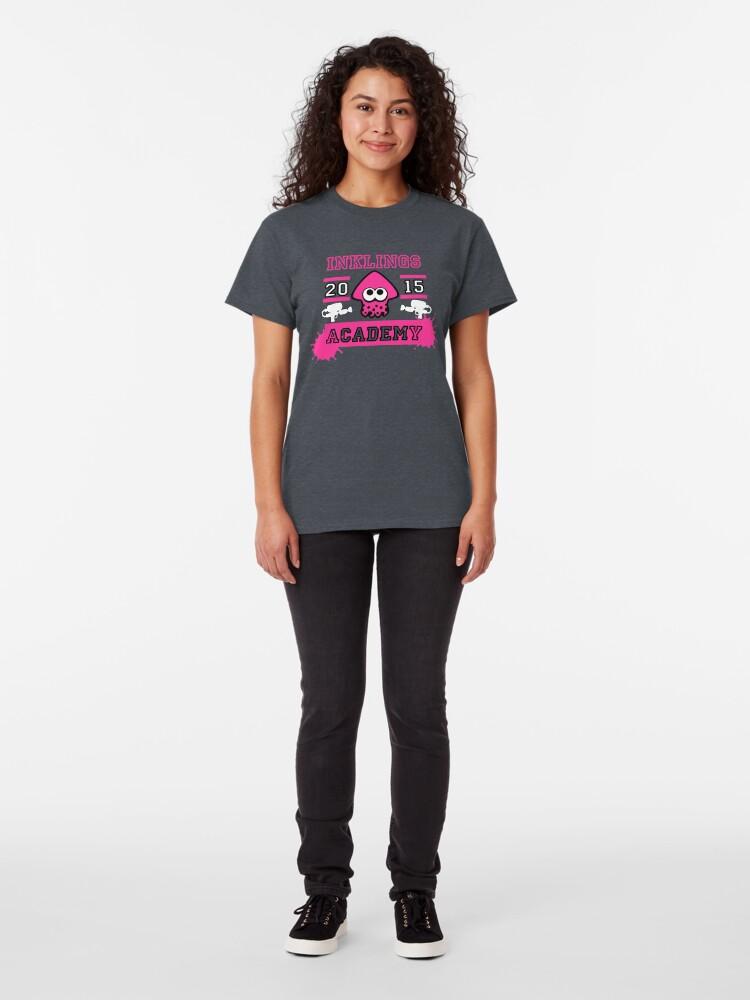 T-shirt classique ''SPLATOON ACADEMY PINK': autre vue