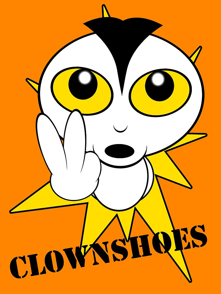 Angry Alien Clownshoes by clownshoes