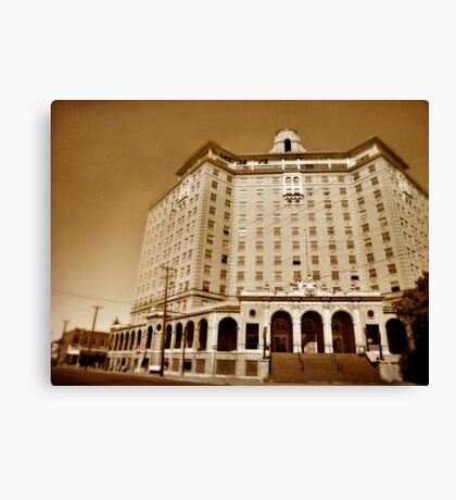 The Baker Hotel Canvas Print