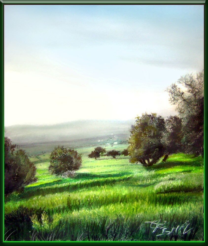 """bhalil area olive trees """"small version"""" by versatileArt"""