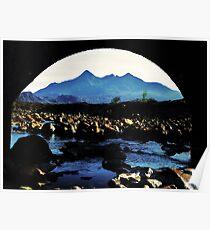 The Bridge - Sgurr nan Gillean Poster