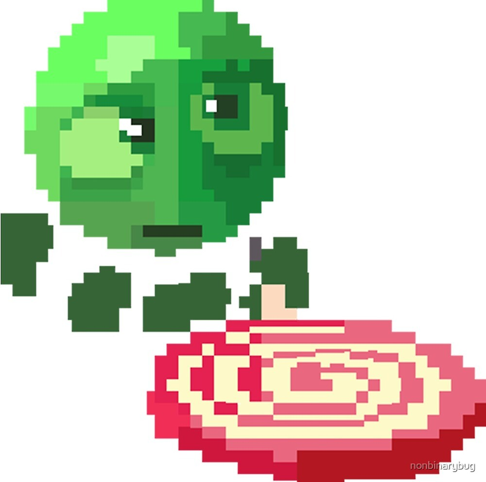 Sourbell Pixel by greeneggsandcam