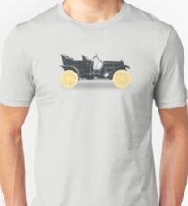 Oldtimer / Historic Car with lemon wheels Unisex T-Shirt