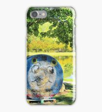 Fall Comes to the Farm iPhone Case/Skin