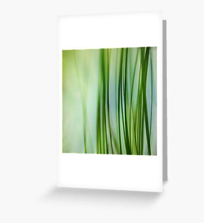 Vertical Grasses Greeting Card