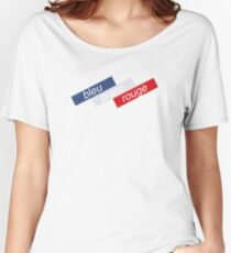 Bleu Blanc Rouge Women's Relaxed Fit T-Shirt