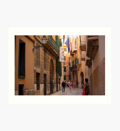 Happy hours  - Palma de Mallorca. Spain . United Europe. 2015. Doctor Faustus. Art Print