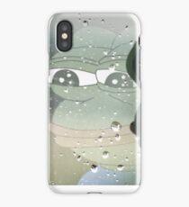 Sad pepe iPhone Case/Skin