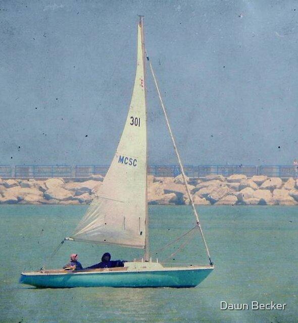 Leisure sailing ©  by Dawn Becker