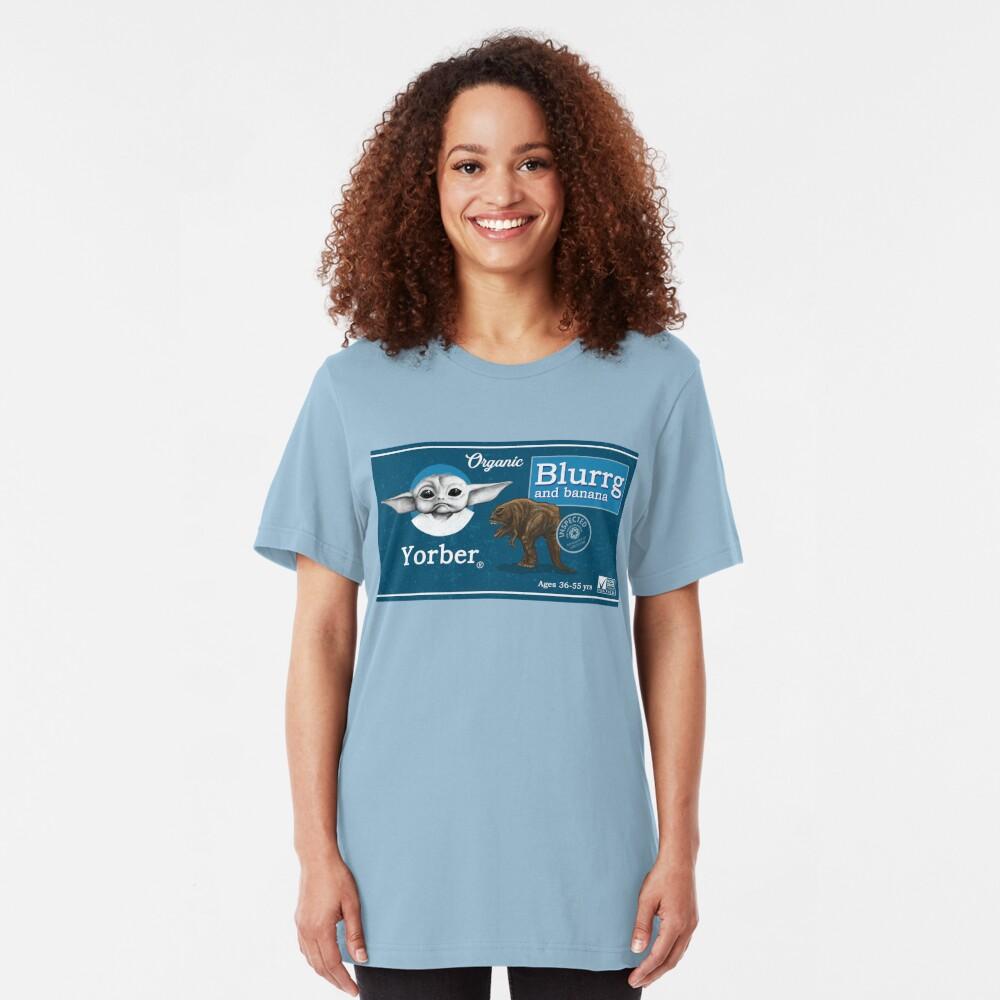 Organic Blurrg and Banana Slim Fit T-Shirt