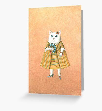 Mademoiselle Greeting Card