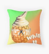 Pineapple Whip It Throw Pillow
