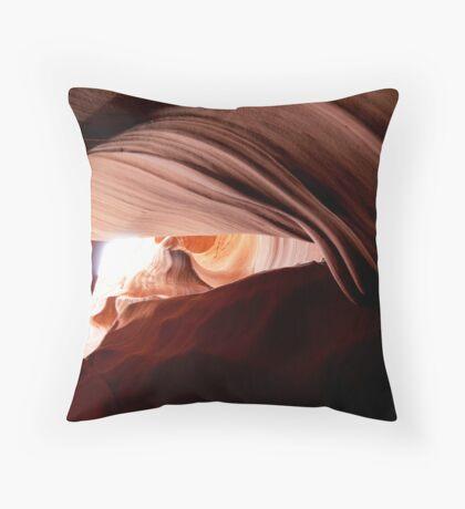 Underground landscape Throw Pillow