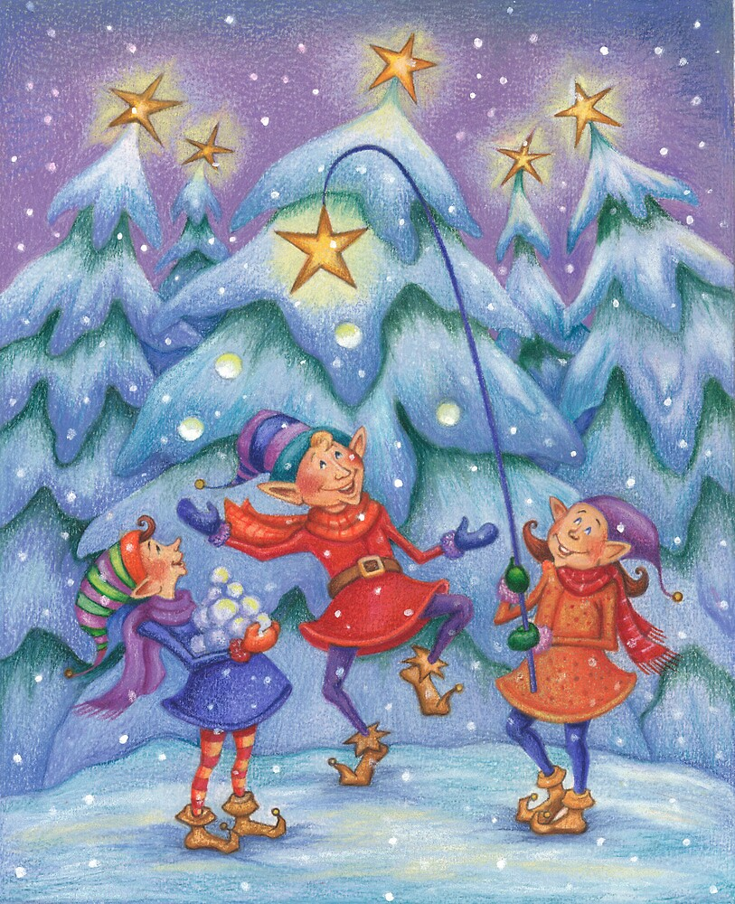 Elf Celebration by MarionEldridge