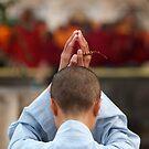 Bodh Gaya Prayer by David Reid