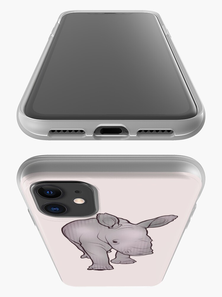Alternate view of Rhino Baby iPhone Case & Cover