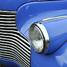 """""""Left Front Headlight and Grill"""" by Lynn Bawden"""