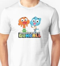 Gumball and Darwin Greet the fans Slim Fit T-Shirt