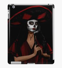 Sombrero lady iPad Case/Skin