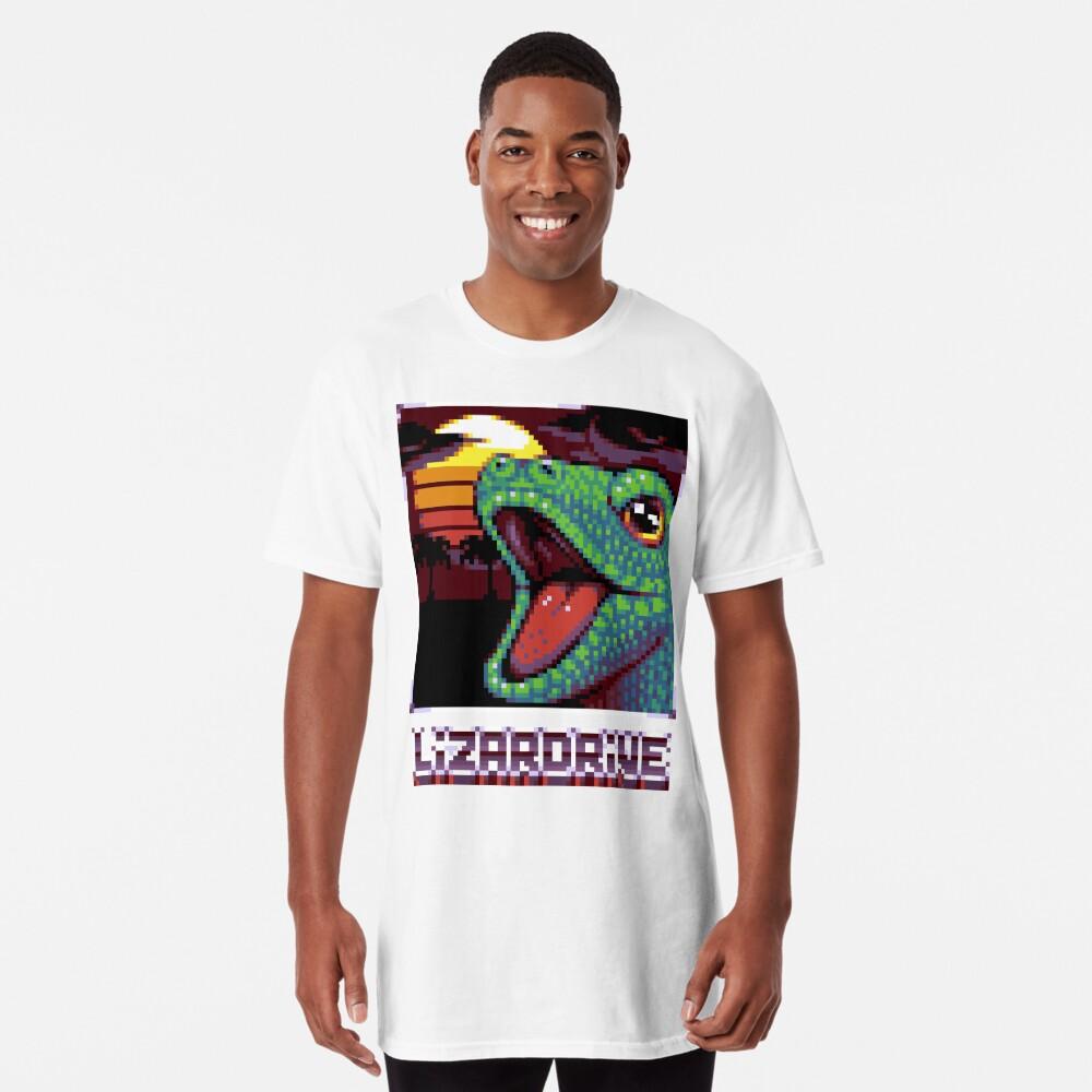 T-shirt long «LIZARDRIVE»