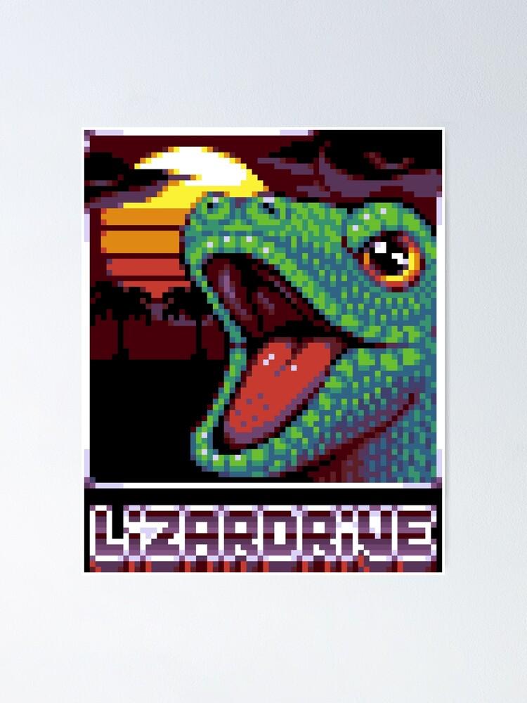 Poster ''LIZARDRIVE': autre vue