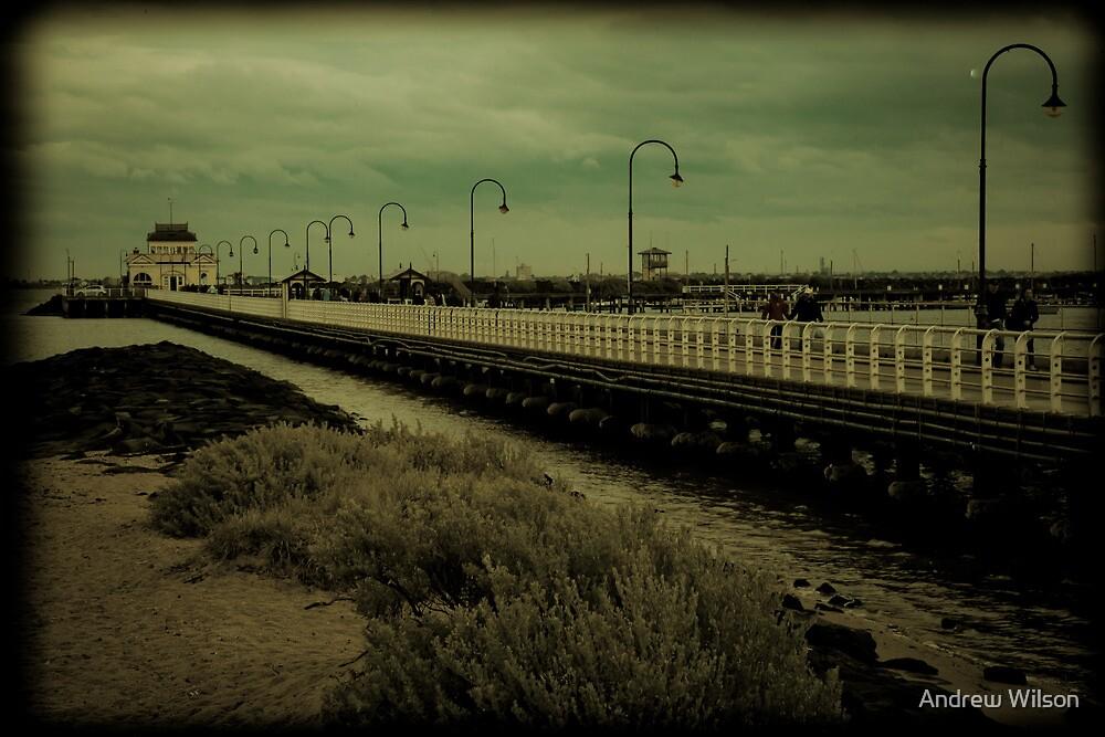 St Kilda Pier by Andrew Wilson