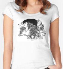Dreams Unwind Women's Fitted Scoop T-Shirt